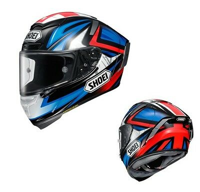 SHOEI X-FOURTEEN X-14 BRADLEY3 TC-1 RED/BLACK L Large  HELMET JAPAN
