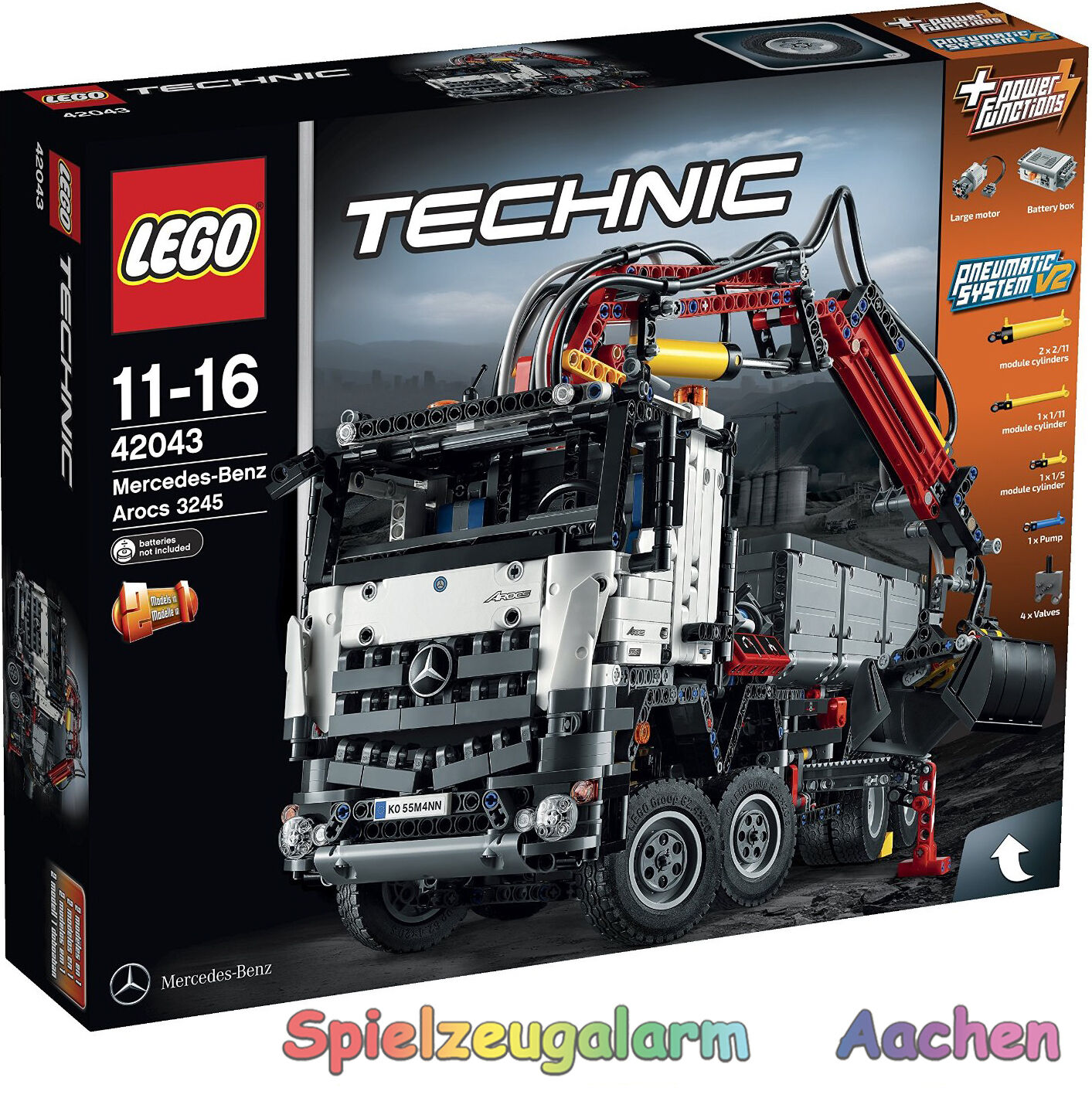 LEGO 42043 Technic MERCEDES BENZ AROCS 3245 NUOVO