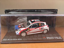 """DIE CAST """" RENAULT CLIO R3 RMC - 2010 R. KUBICA """" PASSIONE RALLY SCALA 1/43"""