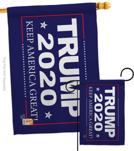 Trump 2020 Patriotic Donald President Election Keep Garden House Yard Flag