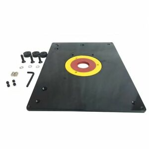 Big horn 18101 9 inch x 12 inch router table insert plate with guide big horn 18101 9 inch x 12 inch router table insert plate with guide pin snap keyboard keysfo Gallery