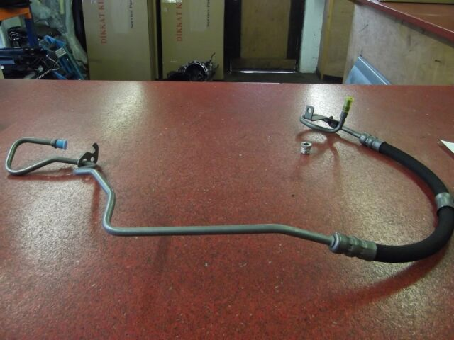 FORD TRANSIT HI PRESSURE POWER STEERING PIPE FWD MK7 2007-13 WITH NUT NEW