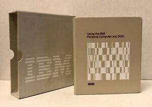 IBM-Personal-Computer-amp-DOS-Keyboard-Training-Diskette-Software-Manual-SRA-32271