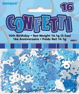 16th-BIRTHDAY-PARTY-SUPPLIES-CONFETTI-FOR-TABLE-DECORATIONS-14g-SLVR-amp-BLUE