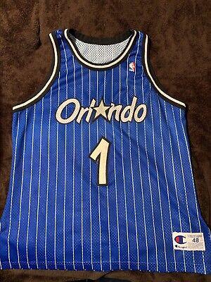 NBA Anfernee Penny Hardaway Champion Authentic Orlando Magic Jersey Size 48 XL | eBay