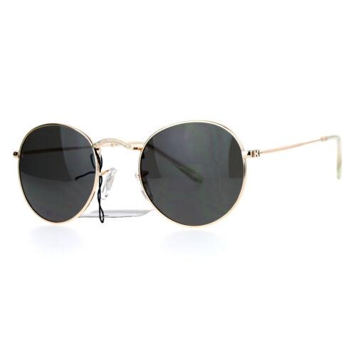 SA106 style vintage 90 s Ajustement Serré Ovale Rond Cadre en Métal Lunettes de soleil