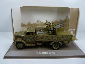 BL41U-atlas-IXO-1-43-Blindes-WW2-OPEL-Blitz-Kfz-305-mitrailleuse-Allemagne
