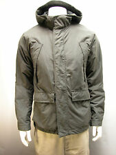 Men's Gap Hooded Jacket Size M Fully Lined Waterproof Winter Coat Dark Gray