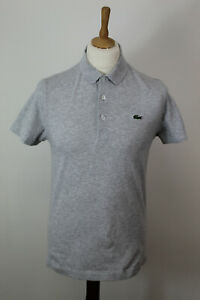 Lacoste-Gris-Polo-T-shirt-taille-4