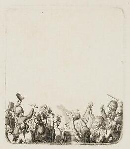 Chodowiecki (1726-1801). la entusiasti; pressione grafico