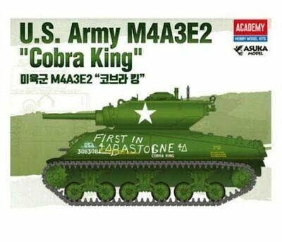 "Academy #13527 1//35 U.S Army M4A3E2 /""Cobra King/"" Collectible Model Kit"