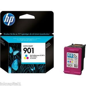 HP-No-901-Colour-Original-OEM-Inkjet-Cartridge-For-4500-4500W