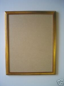New Gold Wooden 18 X14 Picture Poster Frame With Glass Ebay
