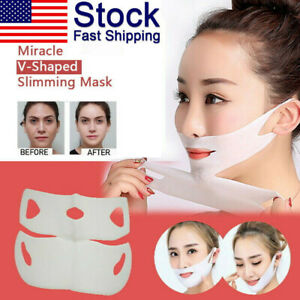 Miracle-V-Shaped-Slimming-Mask-Face-Care-Slimming-Mask-10-Pieces-Set-2019