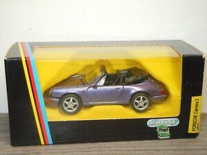 Porsche-911-Carrera-2-Cabrio-Schabak-1110-Germany-1-43-in-Box-32765