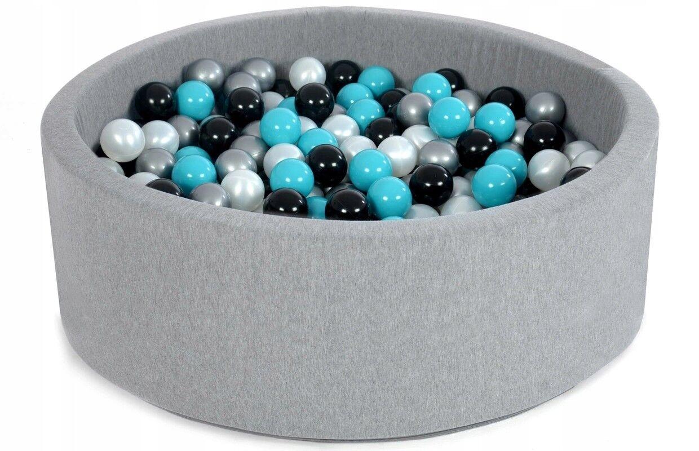 Kugelbad Bällebad Ballpool Kinder-Pool Bällebad mit 200 Bällen 90x40 80x30 hoch