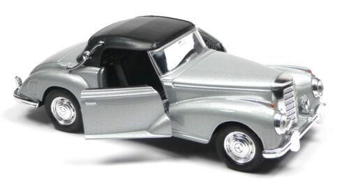 Mercedes-Benz 300S 1955 silber Soft-Top geschlossen 11,5cm Neuware von WELLY