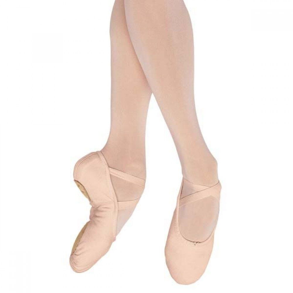 Pink canvas Freed/ roch valley/ Starlite split sole ballet shoes - all sizes