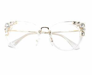 Black Frame spectacles Luxurious Bling Eyeglasses Rhinestones Reading Glasses
