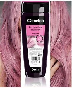 Pink Rose Hair Toner Rinse Grey White Platinum Blond