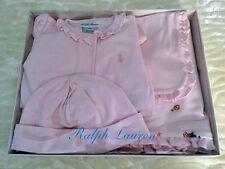$95 NWT Ralph Lauren Baby Girls Size 9 Months 4-Piece Set Baby Shower Gift