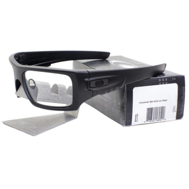 b0e2ca09385a5 Oakley OO 9253-07 STANDARD ISSUE INDUSTRIAL DET CORD Matte Black Mens  Sunglasses