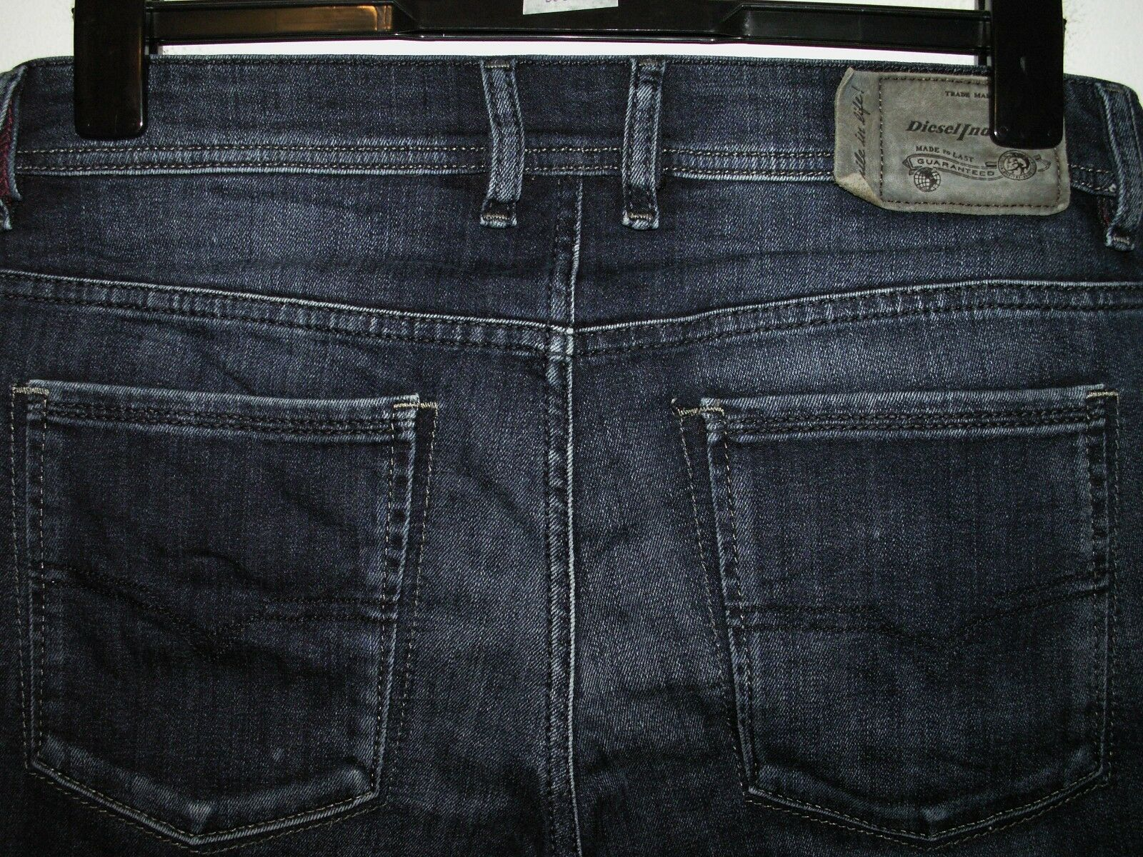 DIESEL Sleenker slim-Jeans skinny fit Wash 0823Z Stretch W32 L32 (a4175)