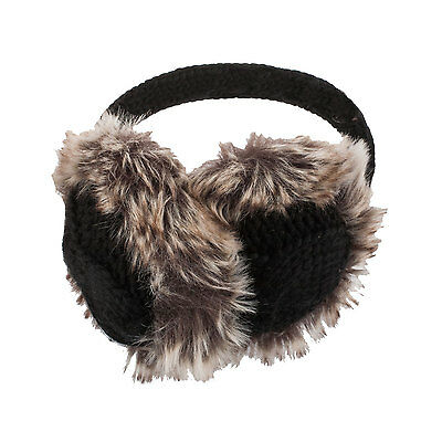 Aran Tradition Women's 100% Wool Knitted Earmuffs