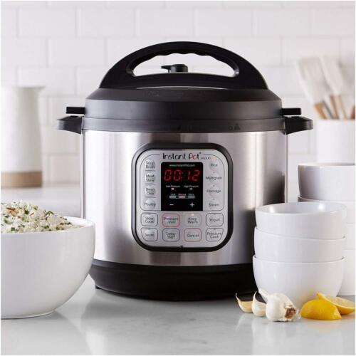 Use Programmable Pressure Cooker Instant Pot DUO80 3-8 Qt 7-in-1 Multi Slow...
