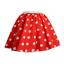 UK-GIRLS-LADIES-RED-NOSE-DAY-COSTUME-Polka-Dot-Skirt-FREE-SCARF-Fancy-Dress thumbnail 11