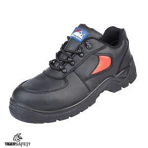Src Chaussures de en Himalayan noir sécurité cuir cuir et 3413 S1p rouge aqFRRwES