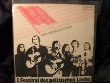 V.A. - Wer, Wenn Nicht Wir / 2.Festival des politschen Liedes