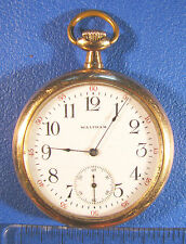 Waltham Pocket Watch - 12s 17 Jewels - Non-Running Parts / Repair - Vintage L