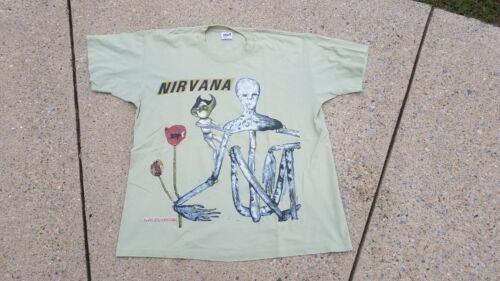 VINTAGE 1993 NIRVANA INCESTICIDE IN UTERO Tour Shi
