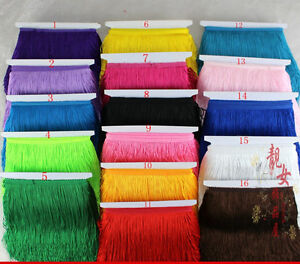 1-10m15cm wide tassel lace lace bow zipper skirt stage curtains DIY accessories