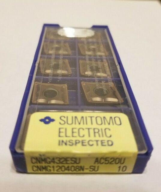 Factory pack of 10 SUMITOMO Carbide TURNING Inserts DNGG430.5ESU; AC5200