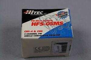 ZC3577-Hi-Tec-MRC-HFS-05MS-44-306-avion-RC-FM-SC-micro-recepteur-receiver-5-voie
