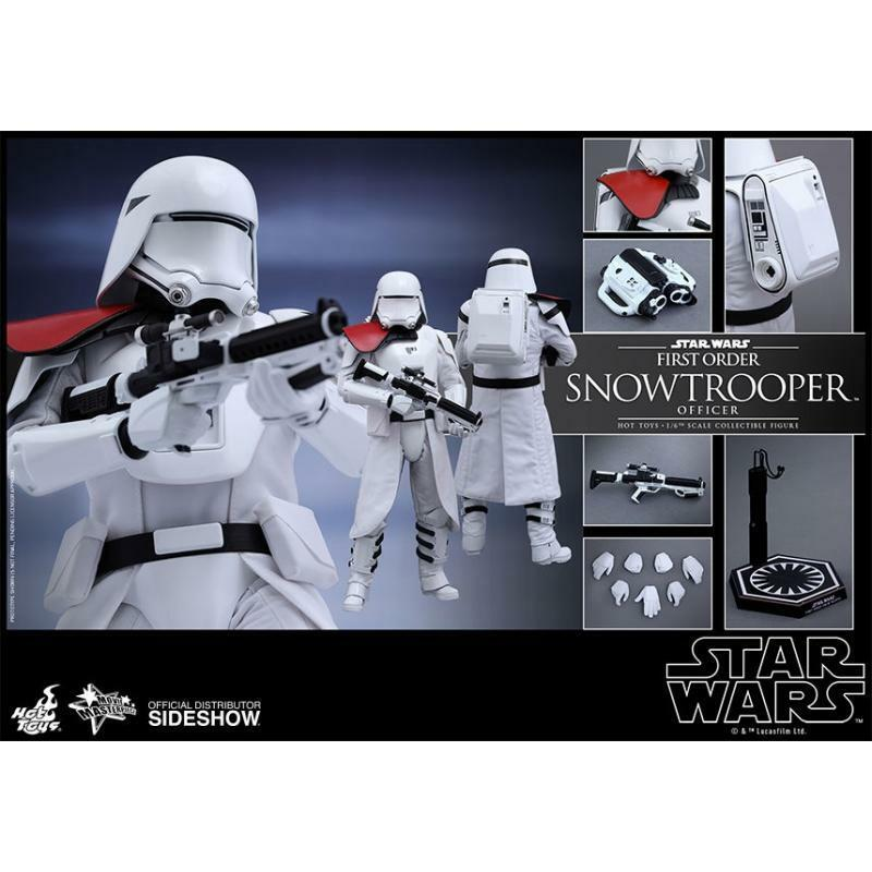 HOT TOYS 1/6 STAR WARS MMS322 FIRST ORDER ORDER ORDER SNOWTROOPERS OFFICER ACTION FIGURE 1d056e