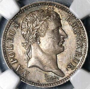 1807-A-NGC-AU-55-France-Napoleon-1-Franc-Rare-Paris-Silver-Coin-19112701R