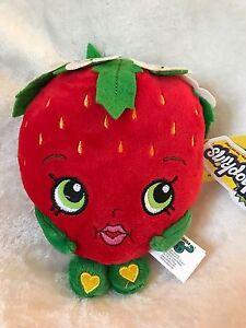 Brand-New-7-034-Shopkins-Strawberry-Kiss-Plush-Stuffed-Toy-NWT-Licensed-Kids