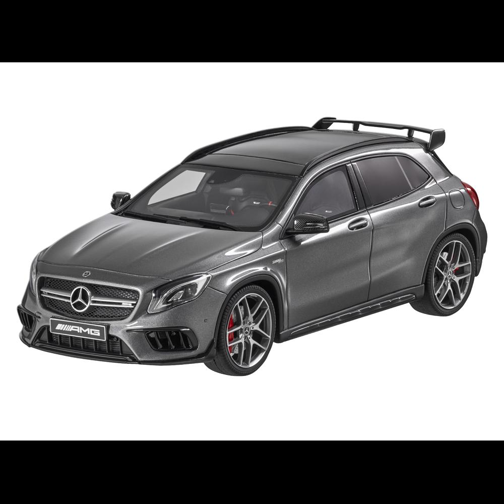 Mercedes - benz amg gla 45 grau 1,18 nuovi   orig.