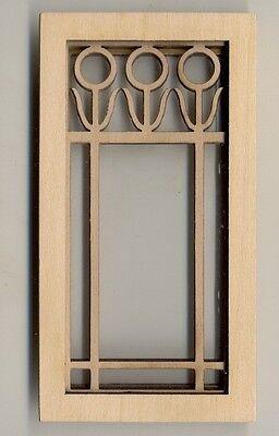 Window - Prairie Flower - 2187 wooden dollhouse miniature 1:12 scale USA made
