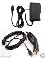 Car+wall Ac Charger For Alltel/verizon/virgin Mobile Blackberry Curve 8530, 9310
