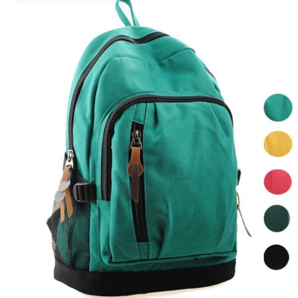 New Men women Backpack Bag canvas schoolbag Satchel Travel bookbag Rucksack