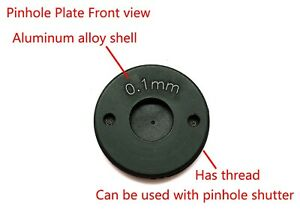 18° Laser Drilled Pinhole Plate