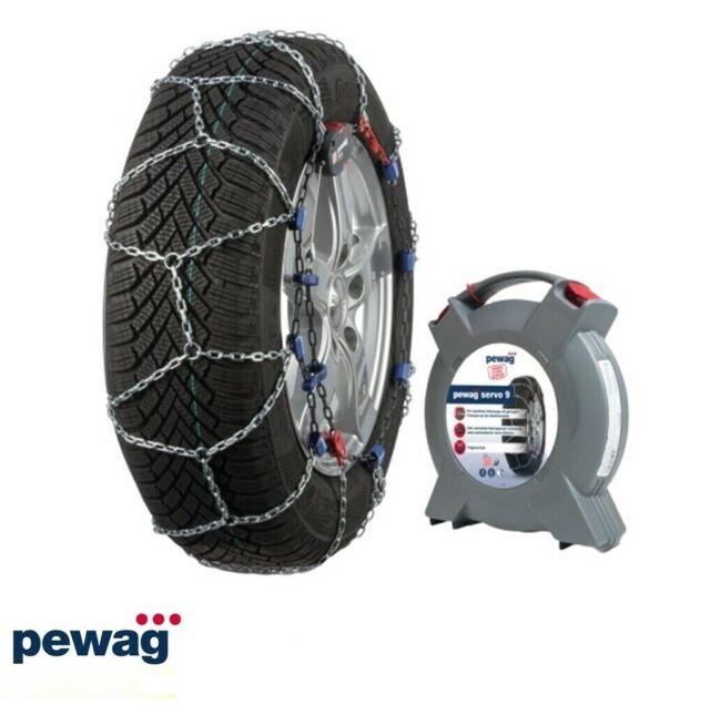 Cadenas de Nieve 9mm Pewag Servo 9 RS9 67 Homologado para Neumáticos 185/55r16