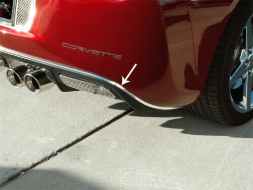 C6 Corvette 2005-2013 Chrome Rear Valance Trim