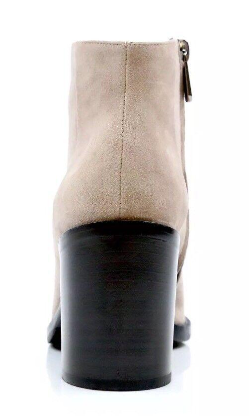 Paul Andrew Bushwick 36 Taupe gamuza tobillo botas talla. 36 Bushwick nuevo 2bbcc3