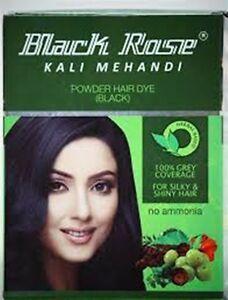 Black Rose Henna Powder Hair Dye 5 X 10g Sachets Free Shipping