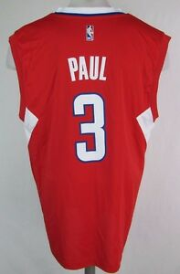 a6317f2e4 Los Angeles Clippers Men s  3  Paul  Replica Jersey NBA adidas Red ...